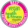 Best in Natural Beauty Products 2015 WINNER by Vegan Health & Fitness magazine!